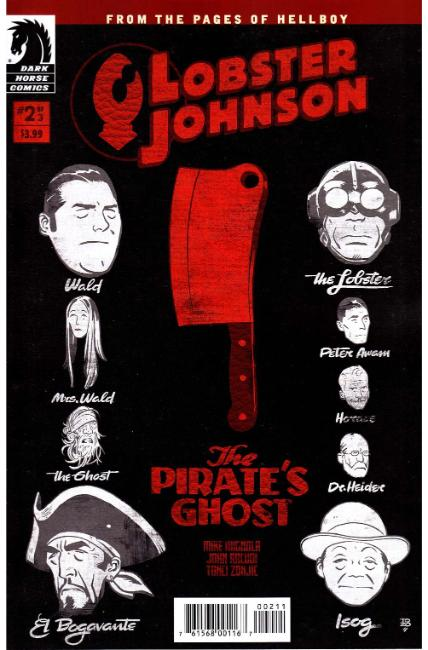 Lobster Johnson Pirates Ghost #2 [Dark Horse Comic] THUMBNAIL