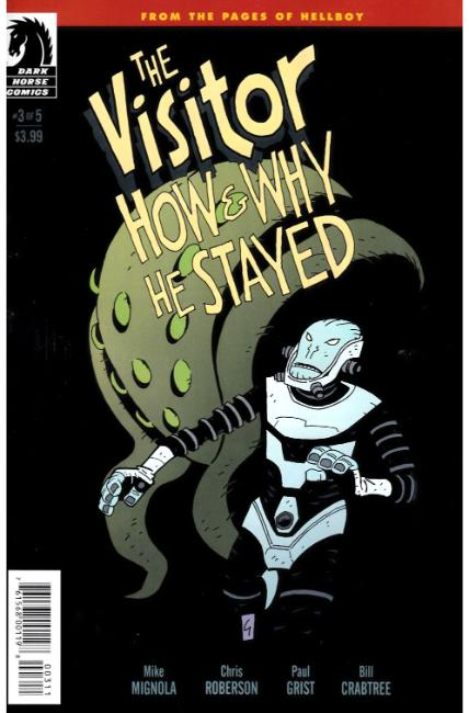 Visitor How and Why He Stayed #3 [Dark Horse Comic]