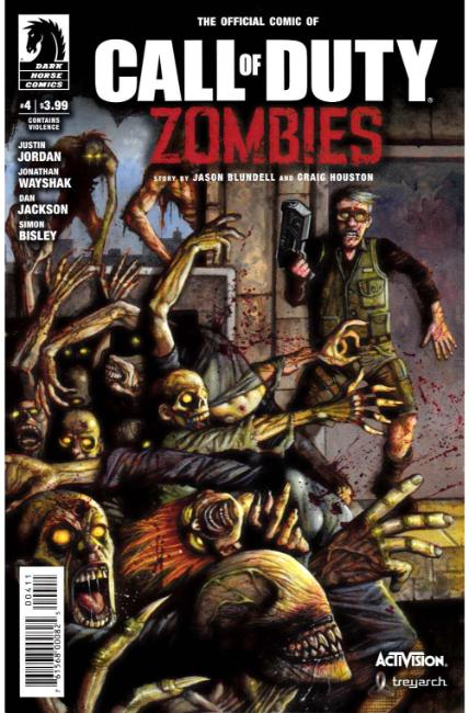 Call of Duty Zombies #4 [Dark Horse Comic] THUMBNAIL