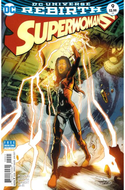 Superwoman #9 Guedes Variant Cover [DC Comic] LARGE
