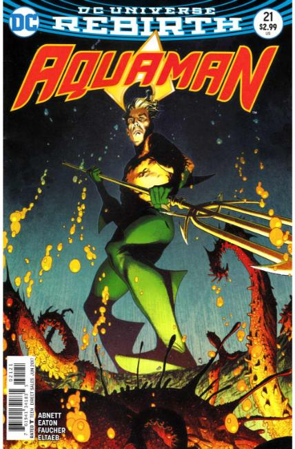 Aquaman #21 Middleton Variant Cover [DC Comic]