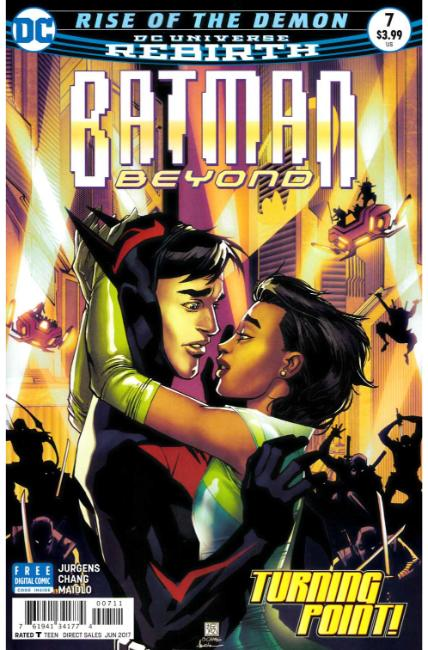 Batman Beyond #7 [DC Comic]