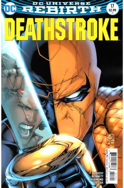 Deathstroke #17 Davis Variant Cover [DC Comic] THUMBNAIL