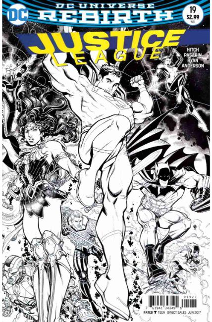 Justice League #19 Bradshaw Variant Cover [DC Comic] THUMBNAIL