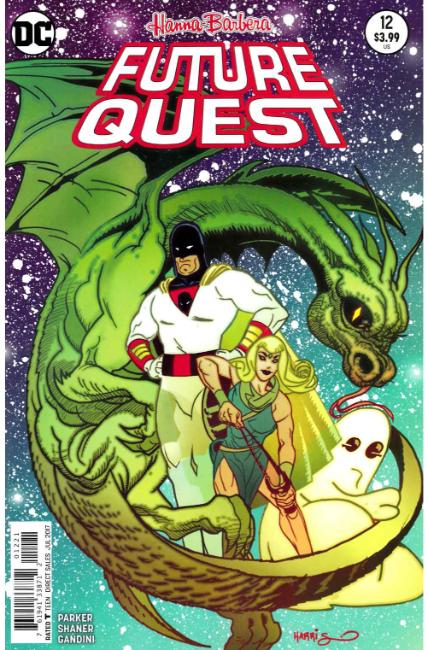 Future Quest #12 Harris Variant Cover [DC Comic] THUMBNAIL
