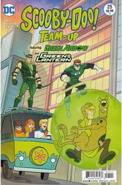 Scooby Doo Team Up #25 [DC Comic] THUMBNAIL
