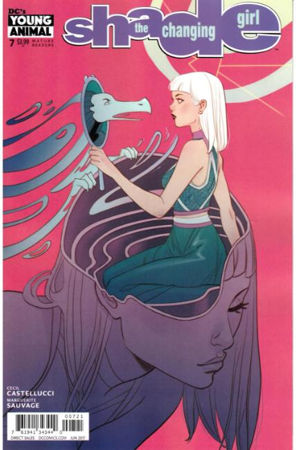 Shade the Changing Girl #7 Sauvage Variant Cover [DC Comic] THUMBNAIL
