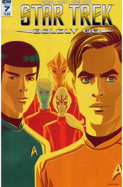 Star Trek Boldly Go #7 [IDW Comic] THUMBNAIL