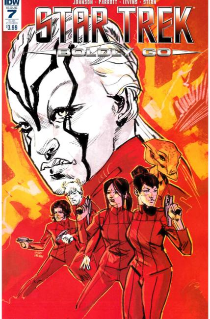 Star Trek Boldly Go #7 Subscription Cover [IDW Comic] THUMBNAIL