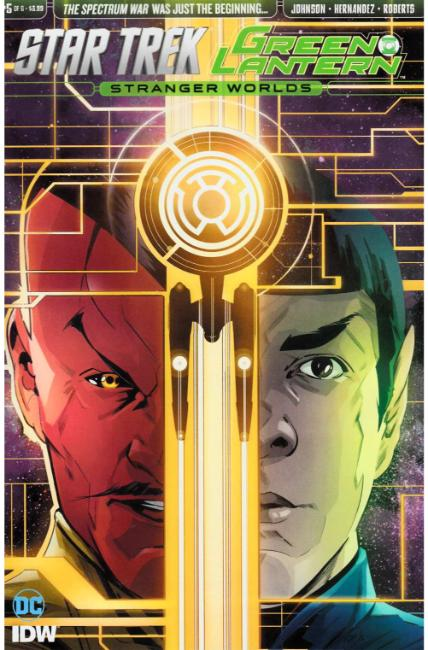 Star Trek Green Lantern Vol 2 #5 [IDW Comic] THUMBNAIL