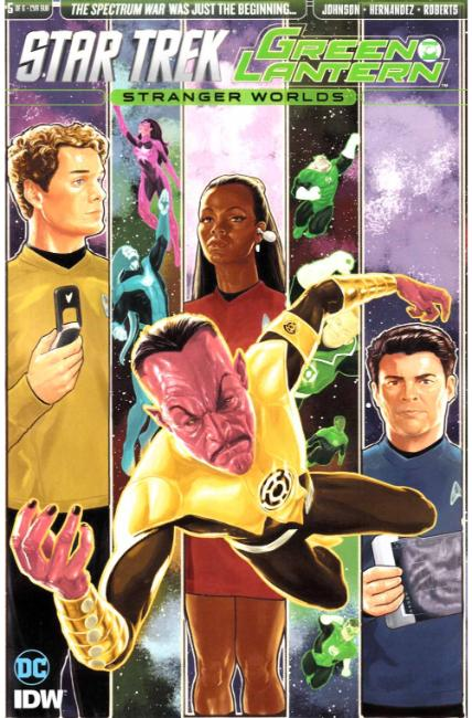 Star Trek Green Lantern Vol 2 #5 Subscription Cover [IDW Comic] THUMBNAIL