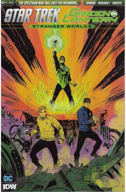 Star Trek Green Lantern Vol 2 #5 Cover RI [IDW Comic] THUMBNAIL
