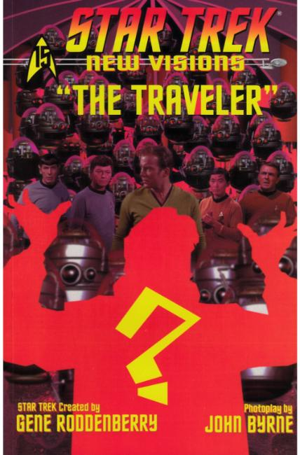 Star Trek New Visions the Traveler (One Shot) [IDW Comic] THUMBNAIL