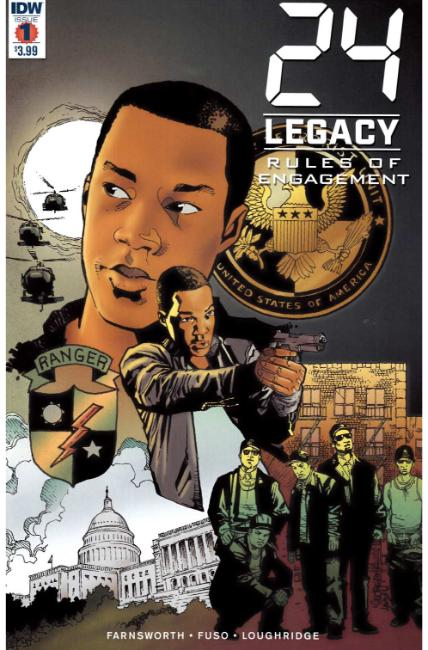24 Legacy Rules of Engagement #1 [IDW Comic] THUMBNAIL