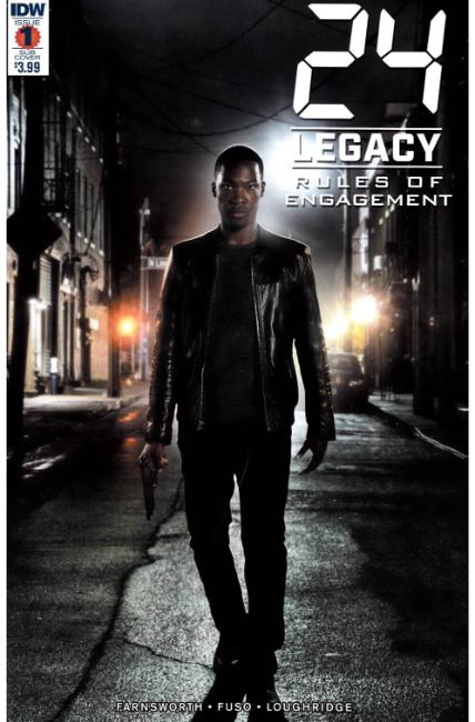 24 Legacy Rules of Engagement #1 Subscription Cover [IDW Comic] THUMBNAIL