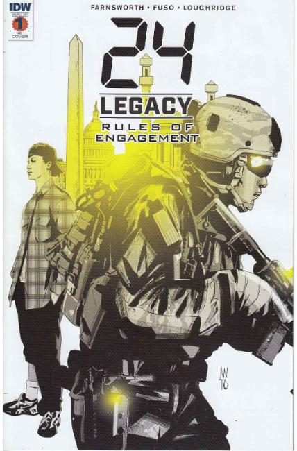 24 Legacy Rules of Engagement #1 Cover RI [IDW Comic] THUMBNAIL