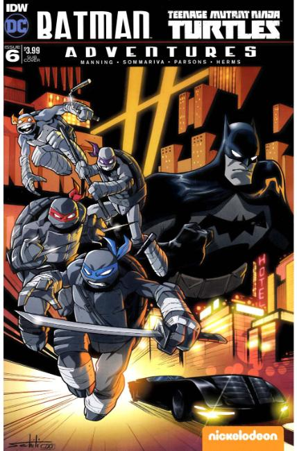 Batman TMNT Adventures #6 Subscription Cover [IDW Comic] THUMBNAIL