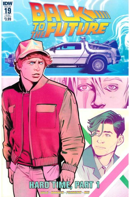 Back to the Future #19 Subscription Cover [IDW Comic] THUMBNAIL