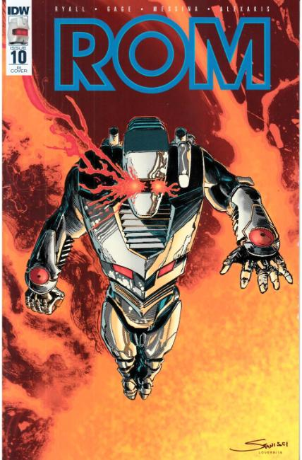 Rom #10 Cover RI [IDW Comic] LARGE