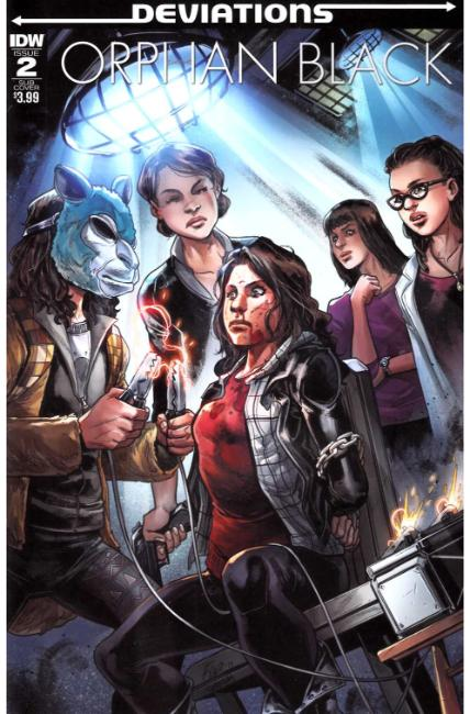 Orphan Black Deviations #2 Subscription Cover [IDW Comic]