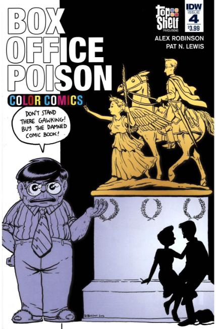 Box Office Poison Color Comics #4 [IDW Comic]