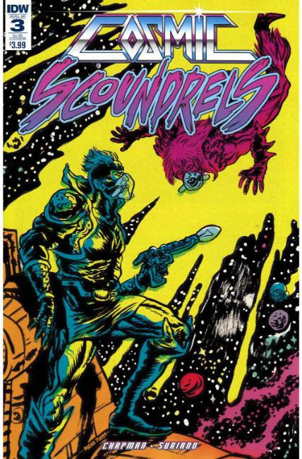 Cosmic Scoundrels #3 Subscription Cover [IDW Comic]_THUMBNAIL