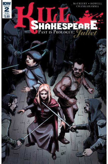 Kill Shakespeare Past Is Prologue Juliet #2 Subscription Cover [IDW Comic] LARGE