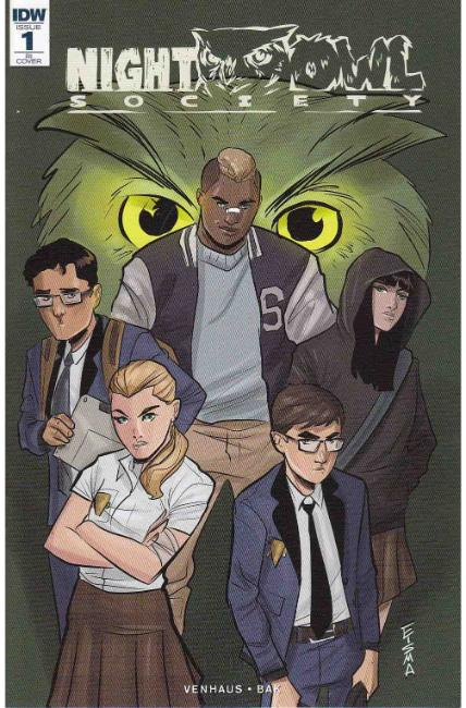 Night Owl Society #1 Cover RI [IDW Comic] THUMBNAIL