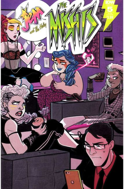 Jem the Misfits #5 Subscription Cover [IDW Comic] THUMBNAIL