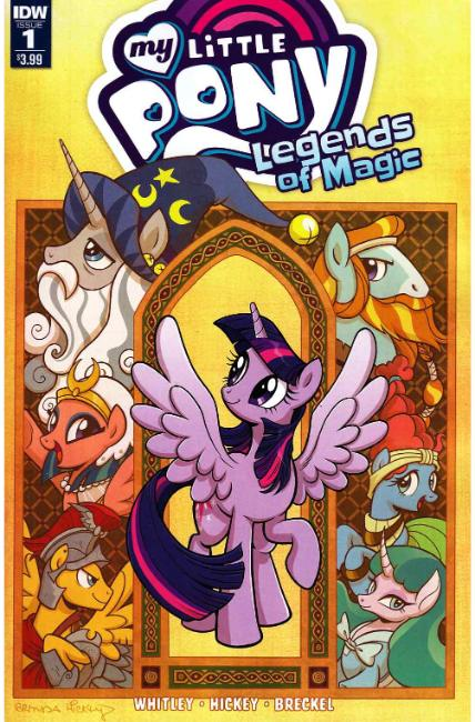 My Little Pony Legends of Magic #1 [IDW Comic]