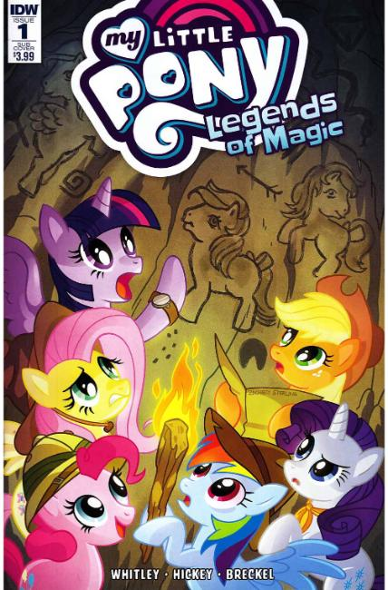 My Little Pony Legends of Magic #1 Subscription Cover [IDW Comic]