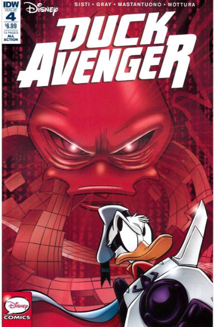 Duck Avenger #4 [IDW Comic]