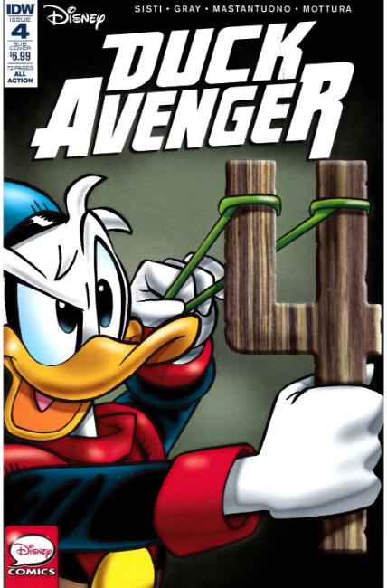 Duck Avenger #4 Subscription Cover [IDW Comic]