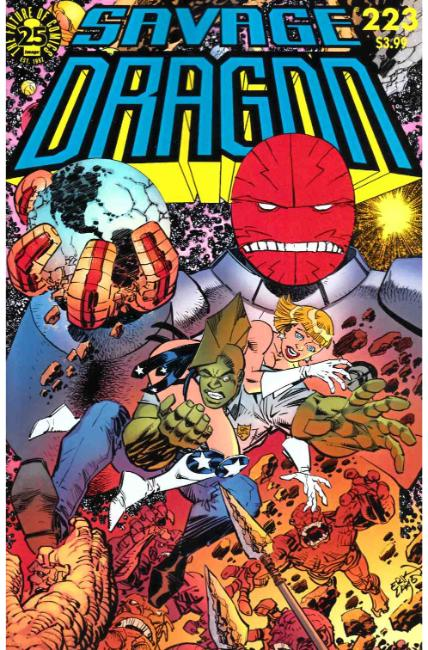 Savage Dragon #223 Cover A [Image Comic]