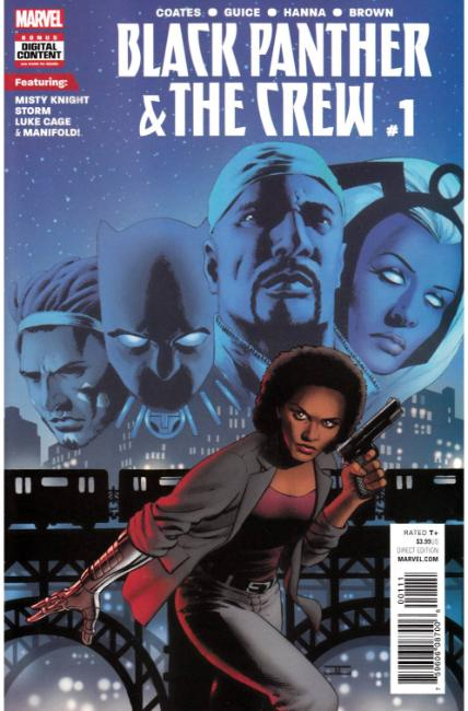 Black Panther Crew #1 [Marvel Comic] THUMBNAIL