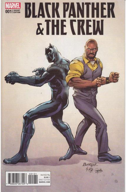 Black Panther Crew #1 Buckler Classic Variant Cover [Marvel Comic] THUMBNAIL