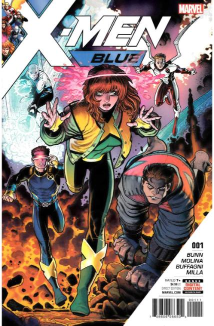 X-Men Blue #1 [Marvel Comic]_THUMBNAIL