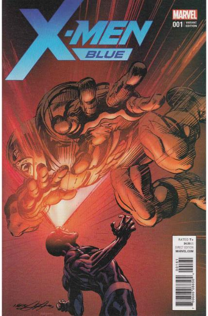 X-Men Blue #1 Neal Adams Variant Cover [Marvel Comic]_THUMBNAIL