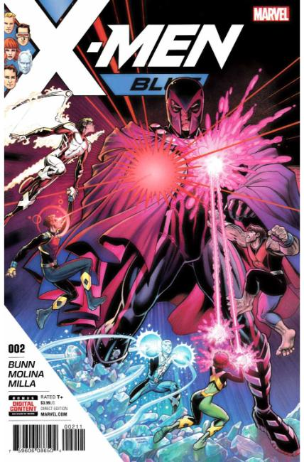 X-Men Blue #2 [Marvel Comic] LARGE