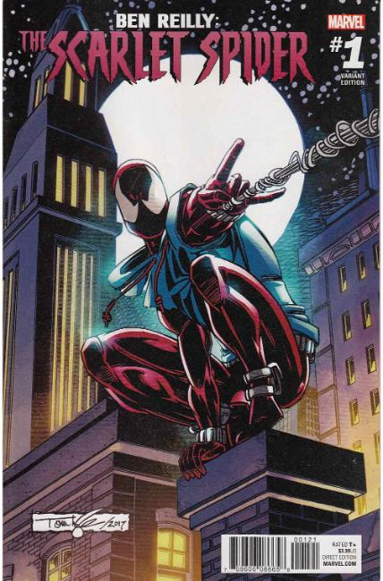 Ben Reilly Scarlet Spider #1 Lyle Variant Cover [Marvel Comic] LARGE