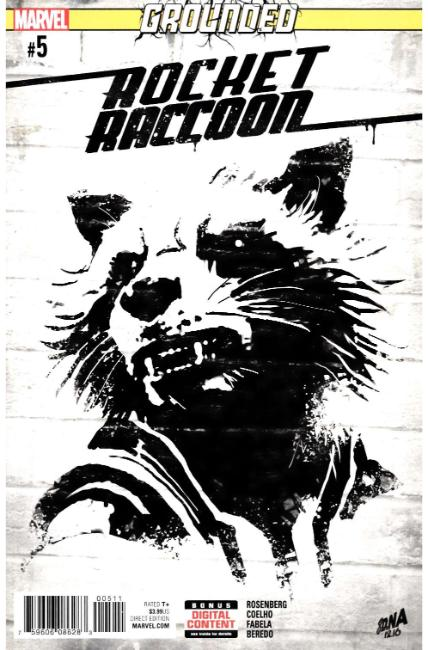 Rocket Raccoon #5 [Marvel Comic]