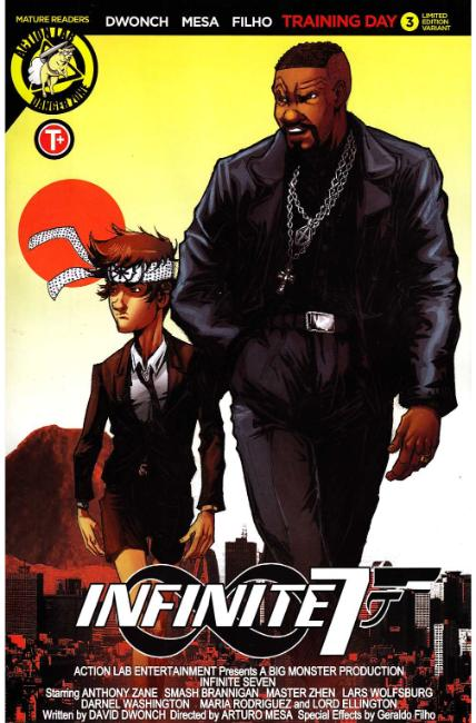 Infinite Seven #3 Cover B [Action Lab Comic] THUMBNAIL