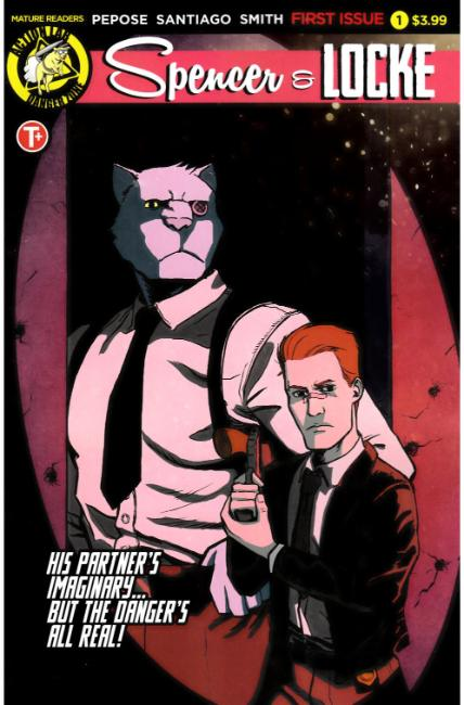 Spencer and Locke #1 Cover A [Action Lab Comic] THUMBNAIL
