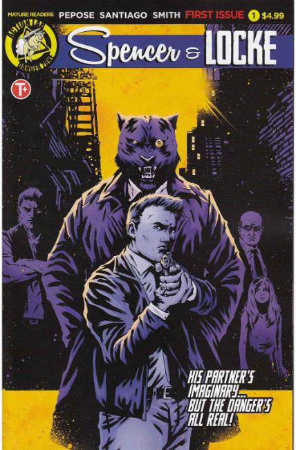 Spencer and Locke #1 Cover B [Action Lab Comic] THUMBNAIL