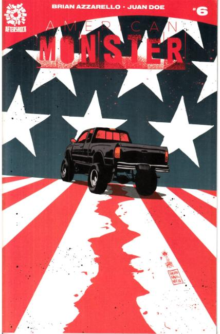 American Monster #6 Francavilla Variant Cover [Aftershock Comic]