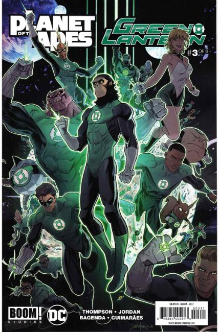 Planet of Apes Green Lantern #3 [Boom Comic] LARGE