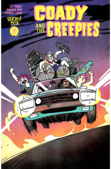 Coady & the Creepies #2 [Boom Comic]