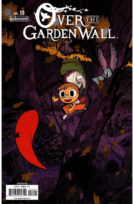 Over Garden Wall Ongoing #13 Subscription Cover [Boom Comic] THUMBNAIL