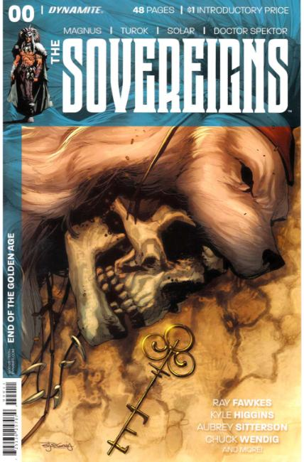 Sovereigns #0 [Dynamite Comic] THUMBNAIL