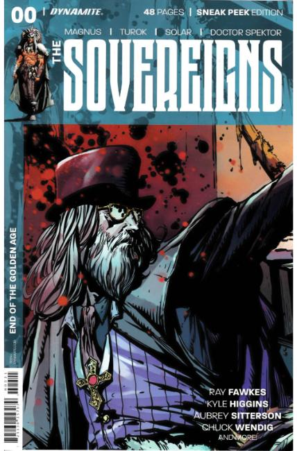 Sovereigns #0 Desjardins Sneak Peek Incentive Cover [Dynamite Comic] THUMBNAIL